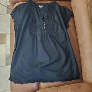 Converse Ruffle Shirt